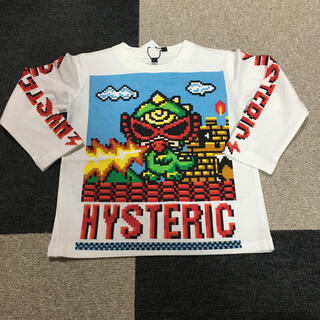 HYSTERIC MINI - ロンT☆白