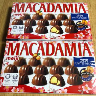 明治 - meiji MACADAMIA マカダミアチョコレート 特大 2箱