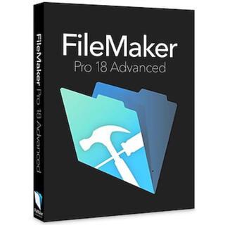 Filemaker ファイルメーカー pro18 advanced
