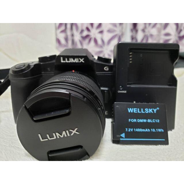 Panasonic(パナソニック)のKEN様専用【中古美品】DMC-G8 標準レンズキット[値下げしました] スマホ/家電/カメラのカメラ(デジタル一眼)の商品写真
