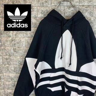 adidas - 【ラス1  新品未使用】アディダス/adidas ビッグロゴ パーカー