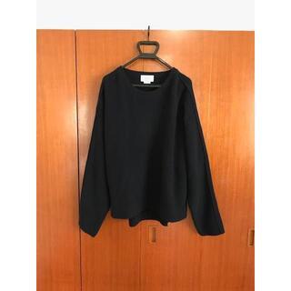 COMOLI - YOKE 7G OVERSIZED HALF ニット セーター