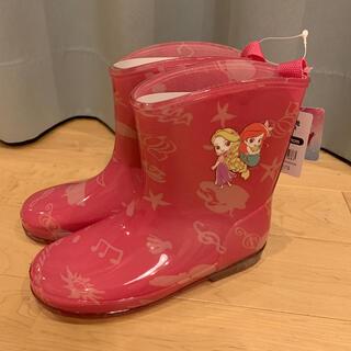 Disney - 長靴 レインブーツ ピンク ディズニー プリンセス ラプンツェル アリエル