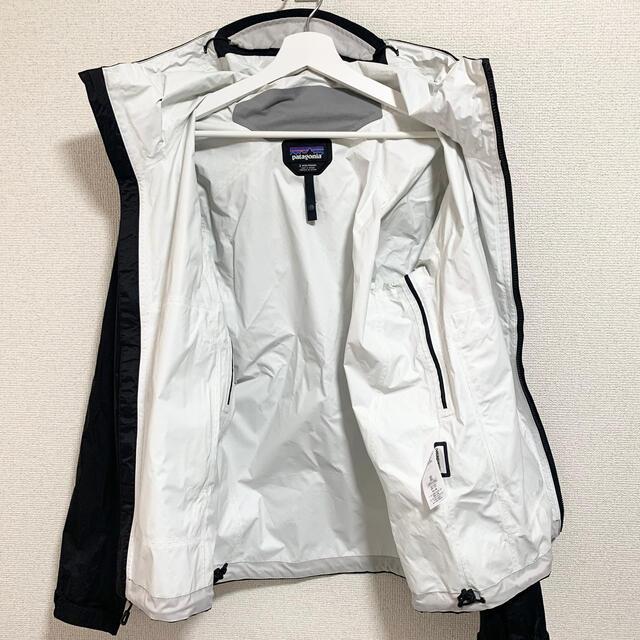 patagonia(パタゴニア)の★美品★patagonia トレントシェルジャケット メンズS 黒 パーカー メンズのジャケット/アウター(ナイロンジャケット)の商品写真