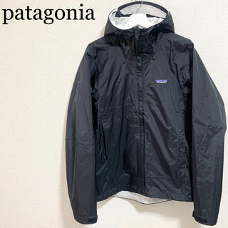 patagonia - ★美品★patagonia トレントシェルジャケット メンズS 黒 パーカー