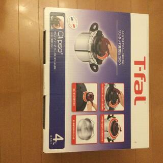 ティファール(T-fal)のT-fal ティファール 圧力鍋 4L IH対応 ワンタッチ開閉(調理道具/製菓道具)