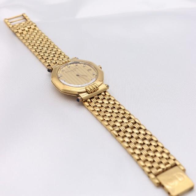 Christian Dior(クリスチャンディオール)の正規品【新品電池】ChristianDior/63151 ダイヤ11P 人気 メンズの時計(腕時計(アナログ))の商品写真