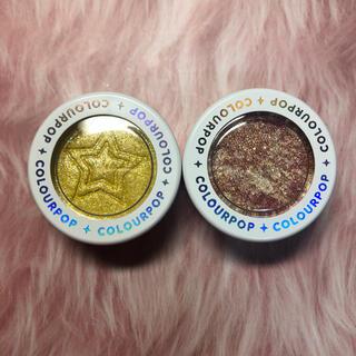 カラーポップ(colourpop)のCOLOURPOP スーパーショックシャドウ 2色セット①(アイシャドウ)