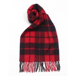 アーヴェヴェ(a.v.v)の新品✨タグ付き♪ 暖かい❣️軽い‼️ウール素材のマフラー 大特価‼️(マフラー/ショール)