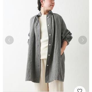 BEARDSLEY - 【新品タグ付き】BEARDSLEY ウールリネンシャツジャケット