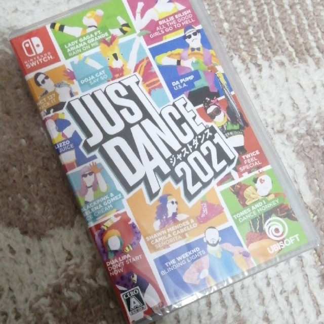 【新品・未開封品】ジャストダンス2021 Switch エンタメ/ホビーのゲームソフト/ゲーム機本体(家庭用ゲームソフト)の商品写真