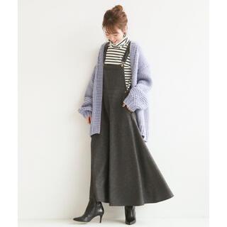 Spick and Span - MITTERNACHT ツイード マキシジャンパースカート