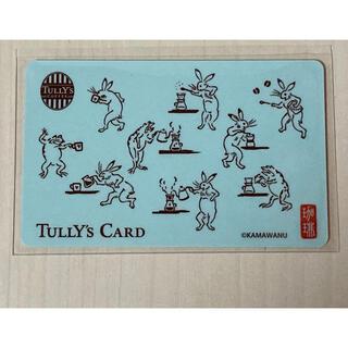 タリーズコーヒー(TULLY'S COFFEE)のタリーズコーヒー 鳥獣戯画 タリーズカード(ノベルティグッズ)