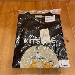 メゾンキツネ(MAISON KITSUNE')のメゾンキツネ END. コラボTシャツ ブラック Sサイズ 新品未使用品(Tシャツ/カットソー(半袖/袖なし))