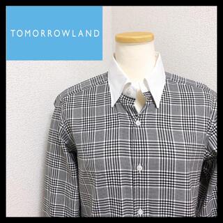 トゥモローランド(TOMORROWLAND)の【希少】トゥモローランド ピルグリム チェックシャツ 38(シャツ)