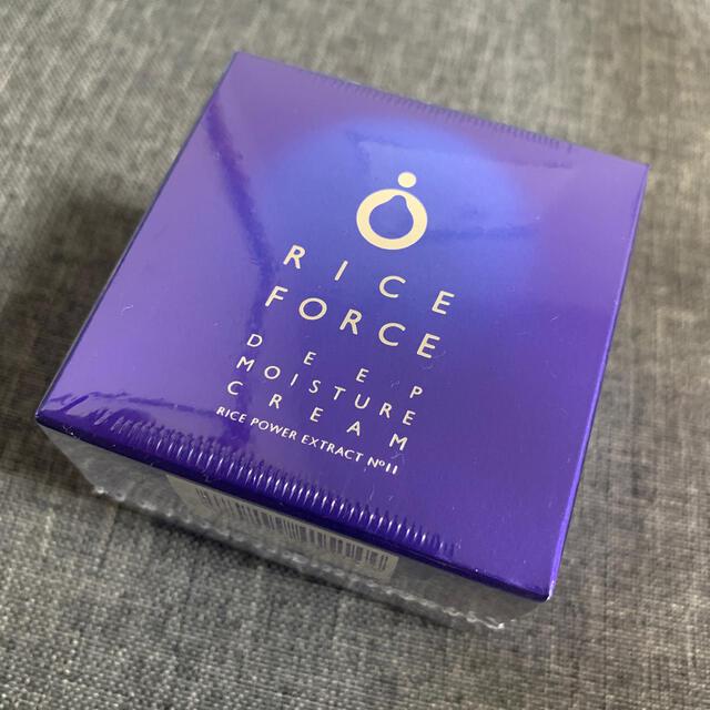 ライスフォース(ライスフォース)のライスフォース ディープモイスチュアクリーム 30g コスメ/美容のスキンケア/基礎化粧品(フェイスクリーム)の商品写真