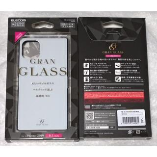 エレコム(ELECOM)のiPhone 11 HVケースガラススクエア背面カラーW 285(iPhoneケース)