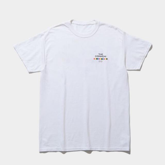 PEACEMINUSONE(ピースマイナスワン)のPEACEMINUSONE × THE CONVENI Tシャツ メンズのトップス(Tシャツ/カットソー(半袖/袖なし))の商品写真