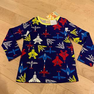 ビッツ(Bit'z)のbit'z ロンT 長袖 Tシャツ 100 飛行機 戦闘機(Tシャツ/カットソー)