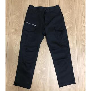 BURTLE - バートル Sサイズ ブラック スリム  作業着パンツ