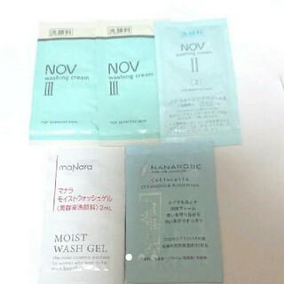 マナラ(maNara)のNOV・マナラ・ナナローブ♡洗顔料 サンプル(洗顔料)
