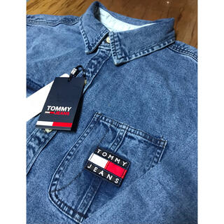 TOMMY HILFIGER - トミージーンズ XLサイズ 新品未使用 デニム シャツ TOMMY JEANS