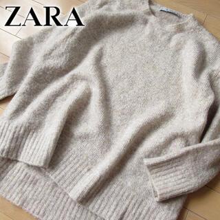 ZARA - 超美品 (EUR)M ザラ ZARA レディース ニット ベージュ系