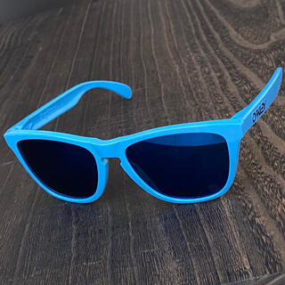 オークリー(Oakley)の限定カラー フロッグスキン 偏光 アイス 30周年 オークリー サングラス(サングラス/メガネ)
