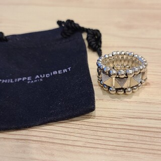 フィリップオーディベール(Philippe Audibert)のPHILIPPE AUDIBERT(フィリップオーディベール)スタッズリング(リング(指輪))