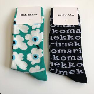 marimekko - 【北欧】マリメッコ 新品 ウニッコ 37-39 ソックス 靴下