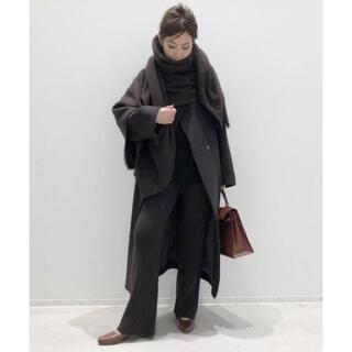 L'Appartement DEUXIEME CLASSE - 新品!アパルトモン☆黒のOver Sized LAMB Coat