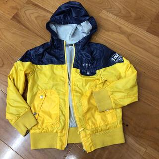 ベベ(BeBe)のべべ  BeBe 130 ウィンドブレーカー 黄色 羽織り 男の子 男子(コート)