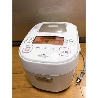 アイリスオーヤマ(アイリスオーヤマ)の送料無料 アイリスオーヤマ 3合IHジャー炊飯器YEC-H05E1 2017年製(炊飯器)