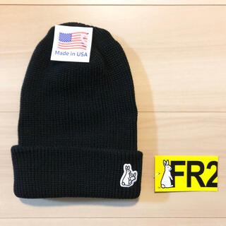 ヴァンキッシュ(VANQUISH)のエフアールツー #FR2 Icon Knit Cap(ニット帽/ビーニー)