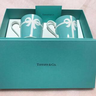 Tiffany & Co. - ティファニー リボンペアマグ