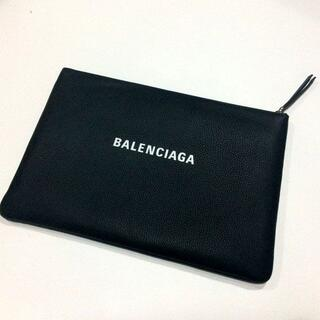 Balenciaga - BALENCIAGA バレンシアガ バッグ クラッチ ブラック