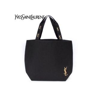 Yves Saint Laurent Beaute - YSL イヴサンローラン トートバッグ ゴールド 刺繍 イブサンローラン