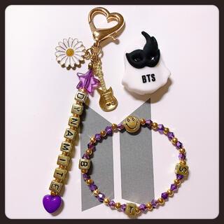 防弾少年団(BTS) - 107❤︎DYNAMITE♬チャーム&BTSブレスレット韓国アクセサリー