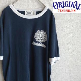 テンダーロイン(TENDERLOIN)のUSA製 TENDERLOIN 半袖 リンガー Tシャツ テンダーロイン M(Tシャツ/カットソー(半袖/袖なし))