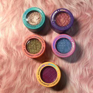 カラーポップ(colourpop)のCOLOURPOP DOUBLE RAINBOW 5色セット(アイシャドウ)