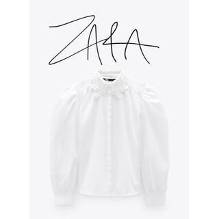 ZARA - ZARA コントラスト カラー  シャツ 新品未使用品