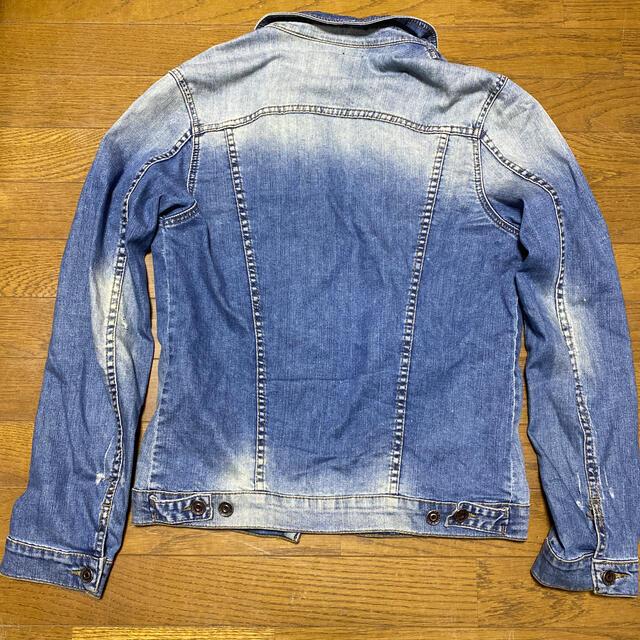 ZARA(ザラ)のZARA デニムジャケット メンズ メンズのジャケット/アウター(Gジャン/デニムジャケット)の商品写真