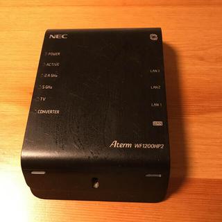 エヌイーシー(NEC)のNEC PA-WF1200HP2(PC周辺機器)