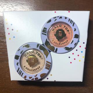 カラーポップ(colourpop)のCOLOUR ×HALOTOP コラボデュオ BIRTHDAY CAKE(アイシャドウ)