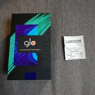 グロー(glo)のサンプル3個付き。新品glo hyperネイビーです(購入証明レシート有り)(タバコグッズ)