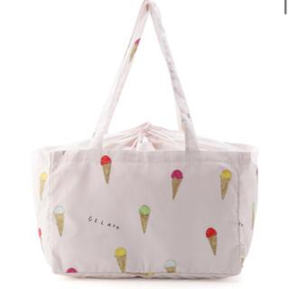 gelato pique - 【 ピンク 】 ジェラート エコバッグ レジカゴバッグ