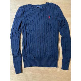POLO RALPH LAUREN - ラルフローレン ポロ ニット セーター 紺色