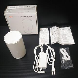 美品⭐️au Speed Wi-Fi HOME L01s/HWS32SWA(PC周辺機器)