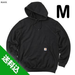 カーハート(carhartt)の【M】CARHARTT カーハート K121 パーカー 黒(パーカー)