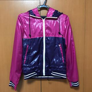 チチカカ(titicaca)のピンク×紫 ダウンジャケット(ダウンジャケット)